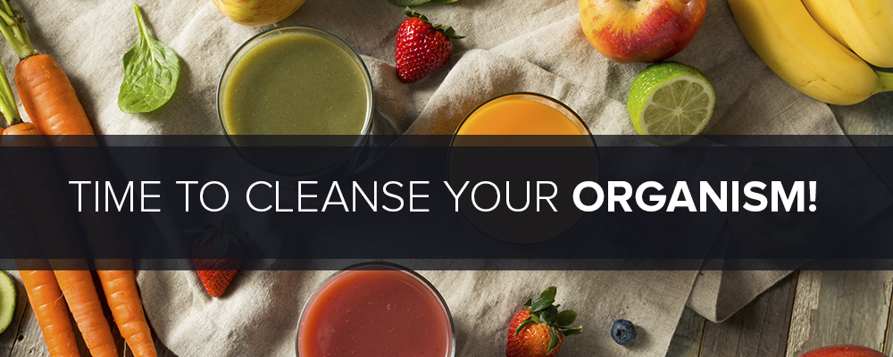 Why do you need to cleanse your organism?